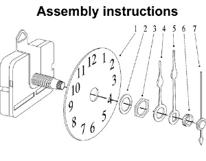 clockinstructions